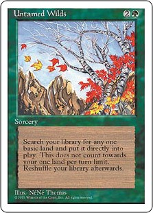 Untamed Wilds -4th Edition
