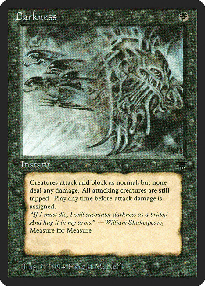 Darkness - Legends printing