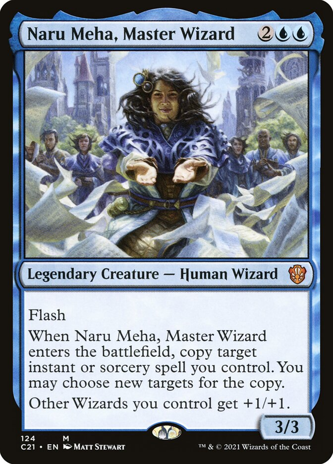 Commander Naru-Meha-Master-Wizard-C21