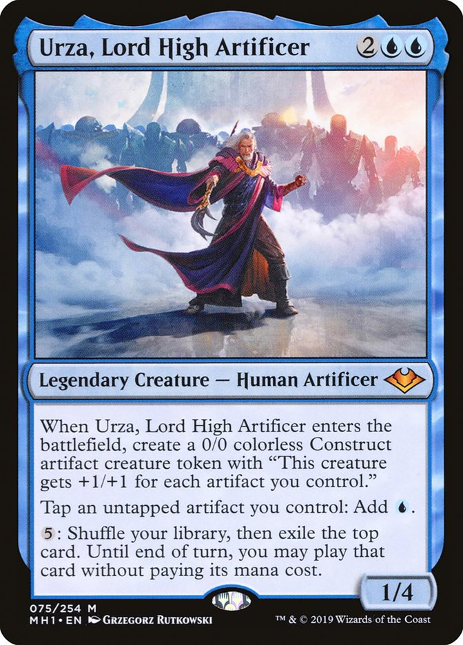 Commander Urza, Lord High Artificer - MH1