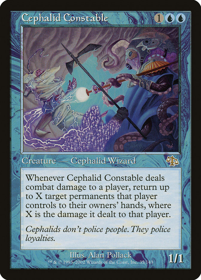 Cephalid Constable - Judgement