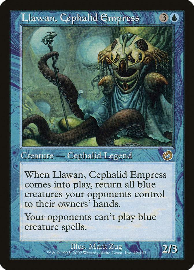 Llawan, Cephalid Empress - Torment